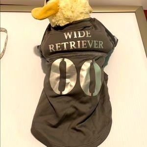 Wide retriever pet costume